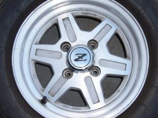 Nissan 1981 1983 260 280 240 240Z Z ZX 280ZX OEM Stock Wheels Mag Rims