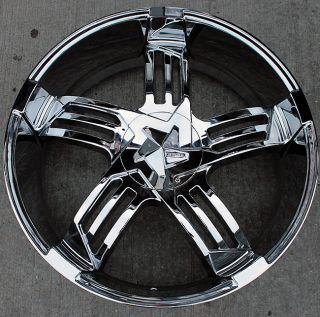 Structure SA918 22 Chrome Rims Wheels Audi Q7 22 x 9 5 5H 30