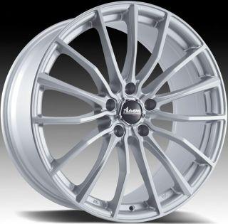 15x6 5 Advanti Racing Lupo 5x114 3 38 Silver Rims Wheels