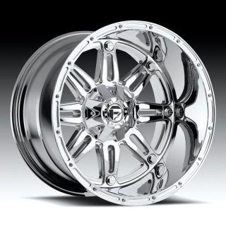 MHT Wheels D53020208247 20x12 8x6 5 4 75 BS Fuel Hostage Chrome