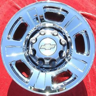 NEW 17 CHEVROLET GMC SILVERADO SIERRA SUBURBAN CHROME WHEELS RIMS 5298