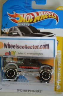 Toyota Tundra Black 2012 Hot Wheels New L Case Premiere 40 50