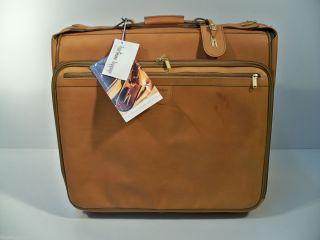 Luggage Belting Leather 41 Garment Bag Wheeled Rolling Wheels