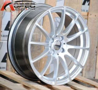16x7 Inovit Force 4 Wheels 4x100 Rims ET40MM Fits 4 Lug Mazda Miata