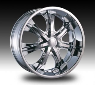 22 Inch Velocity 725 Wheels Rims Tires fit 300 Charger Mugnum