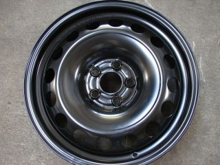 16 VW Golf Beetle Jetta 5 Lug Steel Wheels Rims