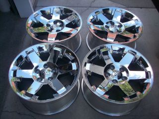 20 Dodge RAM 1500 Factory Chrome Wheels Rims 2011