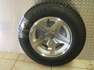 15 5 Star Aluminum Trailer Rim Tire Wheel 3S649