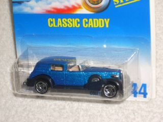 Hot Wheels 1995 Release Classic Caddy 44 Blue w SBS