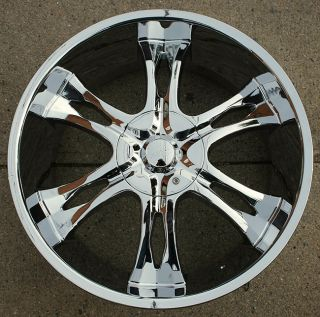 Incubus Nemesis 763 24 Chrome Rims Wheels Avalanche Sierra 6H
