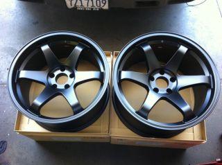 19 JDM TE37 Style Wheels Rims Nissan 350Z 370Z Infiniti G35 Coupe