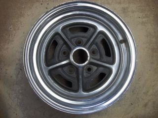 83 84 85 86 87 Buick Regal Century Steel Wheel Rim 14 Chrome