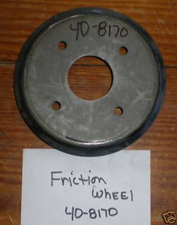 Toro Snow Blower Friction Wheel Drive Disk 40 8170