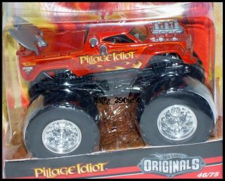 Hot Wheels Monster Jam Truck Pillage Idiot 46 75