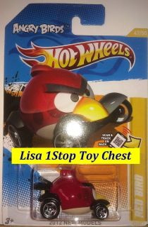 Angry Red Birds 2012 Hotwheels New Models 47 50 VHTF in Stores