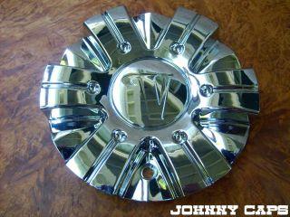 Velocity Wheels Cap STW 166 1CAP Chrome Custom Wheel Center Caps 1