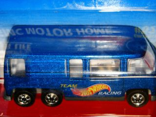1996 Hot Wheels 524 GMC Motor Home RV Team Hot Wheels Racing Free