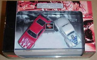 Hot Wheels 2 Cars Set American Racing Set 65 Mustang 41 Willys SHIP WW