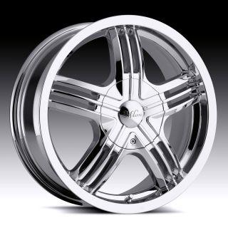 16 Inch 5x110 5x4 5 Chrome Wheels Rims 5 Lug Nissan Toyota Honda Acura