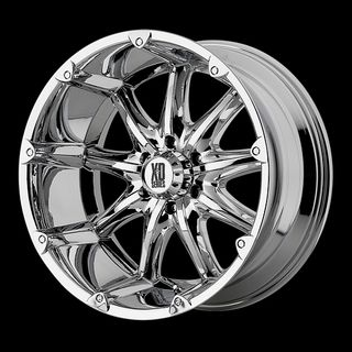 Chrome with 265 50 20 Nitto Terra Grappler at Tires Wheels Rims