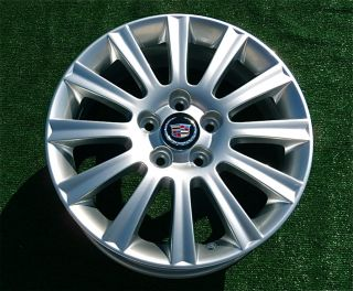 Factory GM Cadillac 17 inch WHEELS DTS CTS SLS Eldorado Deville Sport