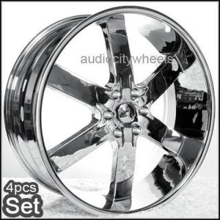 24 AC55 Wheels Rims Chevy Ford Escalade GMC