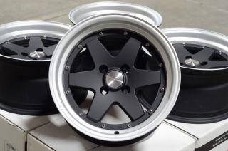 15x8 Racing Effect Wheels Rims Zero offset Civic Cobalt Accord Neon