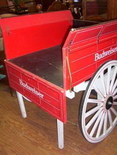 Large Display Cart 46X41X38, with Wagon Wheels, for Home or Business
