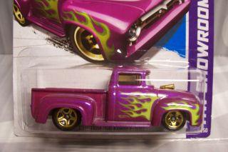 2013 Hot Wheels HW Showroom Custom 56 Ford F 100