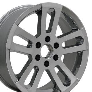 20 Chrome Nissan Titan Wheels Set of 4 62516 Rims Armada Infiniti