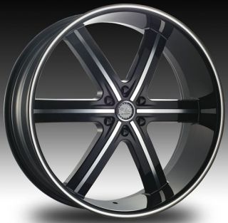 26 U2 55 BM Black Machined Wheels 26x10 6x139 7 Et 25