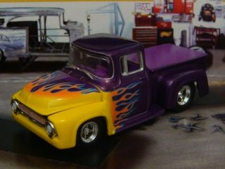 Hot Wheels 56 Ford F100 Stepside Rod 1 64 Scale Limited Edit 4