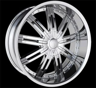 24 VW 800 Wheels Rims Tire Navigator Expedition Yukon Escalade QX56