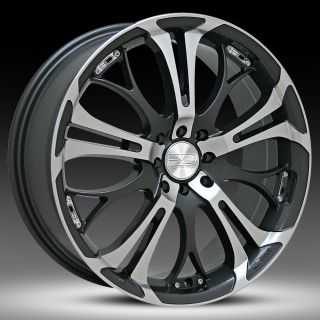 17 inch HD Spinout wheels 4x100 4x114.3 +40 Offset Honda Nissan Toyota