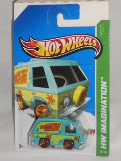 Hot Wheels New for 2012 38 50 Scooby Doo The Mystery Machine 2013 Int