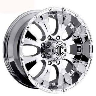 Xtreme Offroad NX 2 17x8 6x139 7 ET20 Chrome Wheels 4 New Rims
