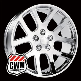 Dodge Ram SRT10 Replica Chrome Wheels Rims for Dodge Ram 1500 2002