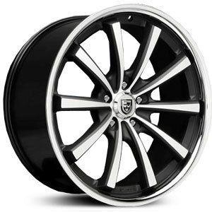 20 Lexani Wheels CVX 55 Stagger Rims Tires G35 350Z Lexus BMW