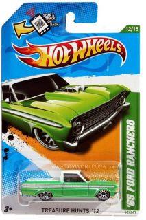 2012 Hot Wheels Treasure Hunt 62 1965 Ford Ranchero