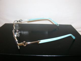 Silver Glasses Half Rim Frames F1050 6037 54 18 135 EX Display