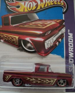 2013 Hot Wheels KUSTOM SUPER TREASURE HUNT Custom 62 CHEVY Truck R R E