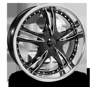 22 New Forte F59 Rims Wheels Fits Most 5 Lug Car SUV Truck Patterns