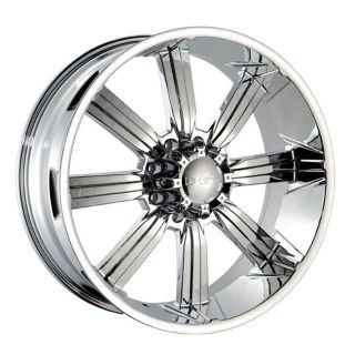 22 Dcenti 903 Chrome Wheels Rims 325 55 22 Tires Hummer Dodge Ford