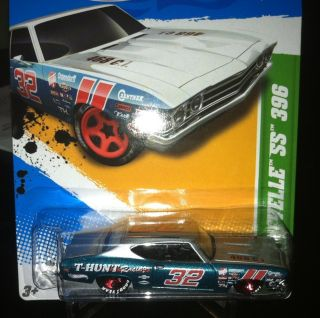2012 Hot Wheels Treasure Hunt 69 Chevy Chevelle SS #3 Of 15 Super Rare