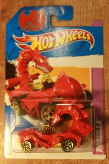 Hot Wheels 2012 Rodzilla Red Special Edition
