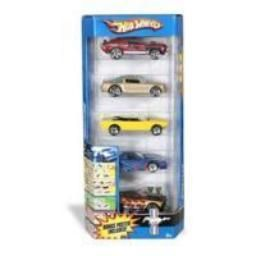 Mattel 1806 Hot Wheels 1 64 Scale 5 Pack
