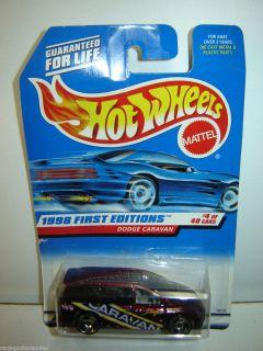 Dodge Caravan 1998 Hot Wheels First Edition 633 New 1 64