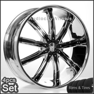 30 Wheels and Tires Escalade Chevy Ford QX56 H3 Silverado Yukon Tahoe
