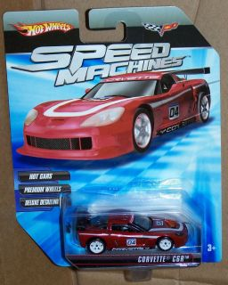Hot Wheels Corvette C6R Speed Machines 1 64 Scale