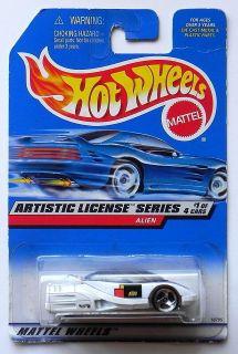 Hot Wheels Artistic License Series 70 Cuda Alien 57 Chevy